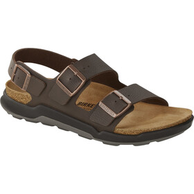 Birkenstock Milano Sandals Birko-Flor Regular Men, desert soil french roast
